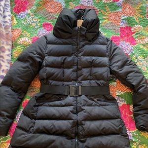Zara woman down jacket preowned XL